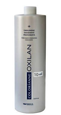 Перекись-эмульсия 3% (10) (для тонировки волос, окрашивания тон в тон, более темные тона) 1000мл Brelil, фото 2