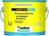 Weber.tec 901 Eurolan 3К банка 30л битумный праймер