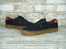 Кеды унисекс черные Vans Era (реплика), фото 2