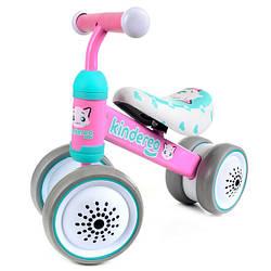Беговел детский, велобег Mini Bike Cat TX-03 Kindereo