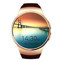 Умные часы UWatch KW18 Золотистые (hub_MfAi2261123234)