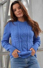 Свитер женский вязанный без горла, Харьков