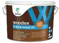 Масло Woodex Aqua Wood Oil Teknos для дерева, 9л