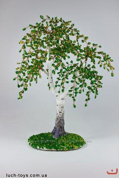 Набор для творчества Бисерное дерево Береза Danko Toys