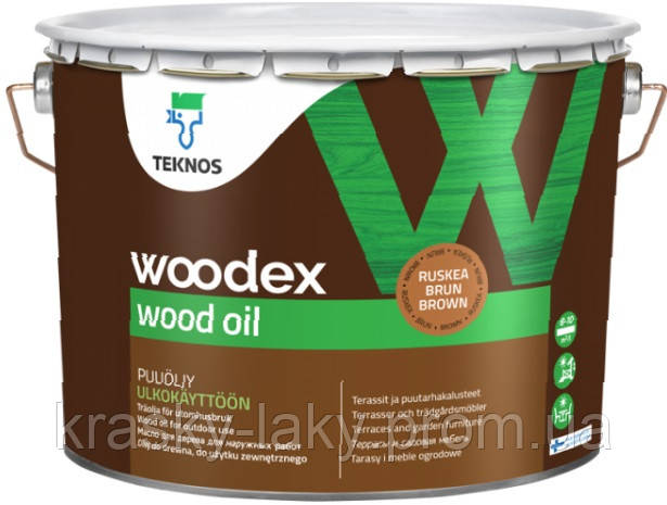 Масло Woodex Wood Oil Teknos для дерева