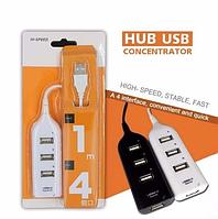 USB HUB hi-speed 4 USB 2.0, фото 1