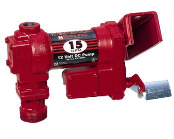 Насос Tuthill Fill-Rite (США) для заправки бензина FR1205, 12В, 55 л/мин.