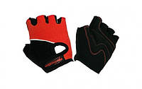 Перчатки детские без пальцев In Motion NC-1295-2010, красные
