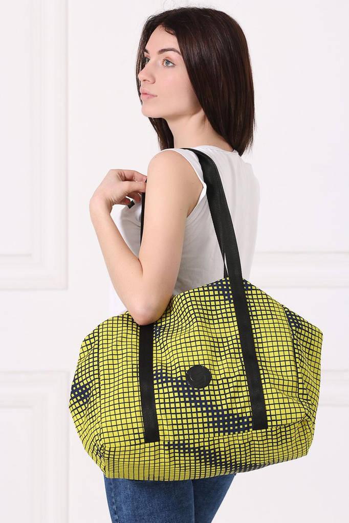 Желто-черная сумка-трансфомер SHOPER