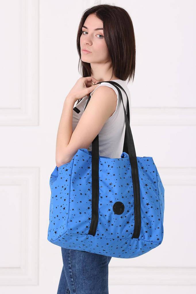 Синяя сумка-трансфомер SHOPER