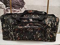 (33*70*30)Спортивная дорожная сумка камуфляж большой NIKE только ОПТ, фото 1