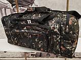 (33*70*30)Спортивна дорожня сумка камуфляж великий NIKE тільки ОПТ, фото 2
