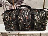(33*70*30)Спортивна дорожня сумка камуфляж великий NIKE тільки ОПТ, фото 4