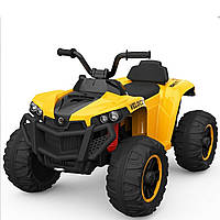 Детский электромобиль-квадроцикл T-738 YELLOW для деток 3-8 лет мотор 2*15W аккумулятор 6V7AH