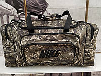 (33*70*30)Спортивная дорожная сумка камуфляж большой NIKE только ОПТ , фото 1