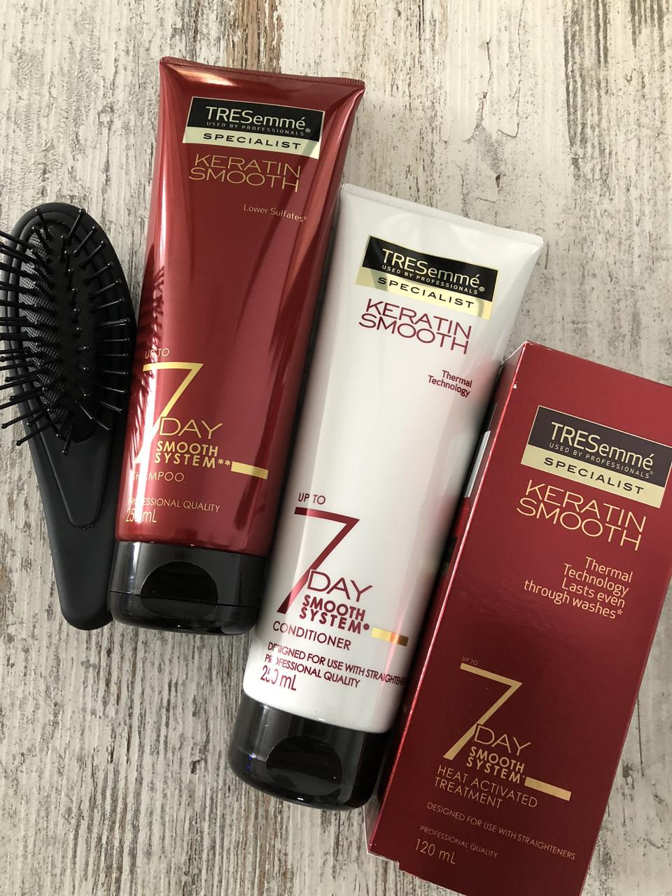 Система для кератинового восстановления и выпрямления волос TRESemme