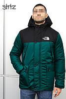 Мужская зимняя куртка-парка, зимова куртка The North Face, Реплика