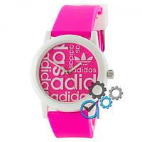 Мужские спортивные часы (копия) Adidas White-Pink Silicone