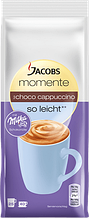 Капучино Jacobs Momente So Leicht со взбитыми сливками и шоколадом Milka 500 гр.