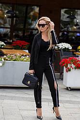 Женский брючный костюм:пиджак+брюки