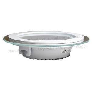 Светильник светодиодный точечный Down Light 12W Glass 3000К, фото 2