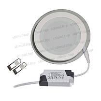 Светильник светодиодный точечный Down Light 12W Glass 3000К, фото 3