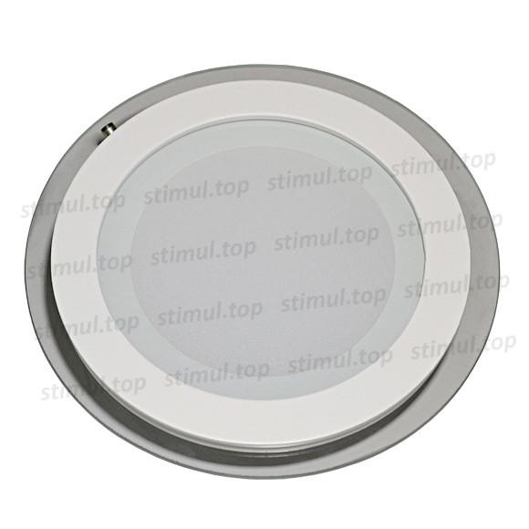 Светильник светодиодный точечный Down Light 12W Glass 3000К