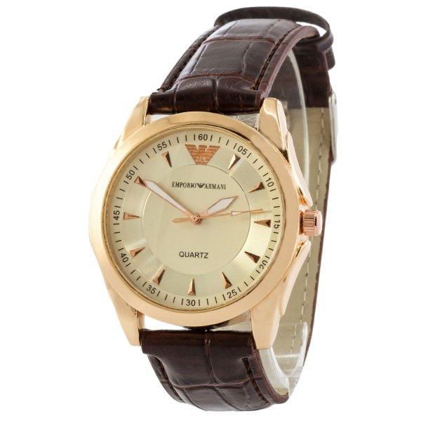 Часы Emporio Armani AAA Gold-White Silicone реплика