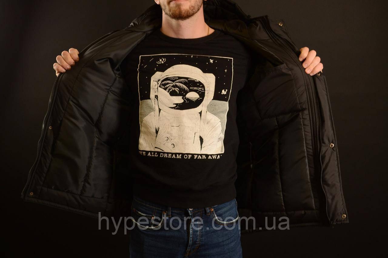 14fd4db5 ... фото Мужская зимняя черная куртка-парка, зимова куртка Nike, найк,  Реплика, фото
