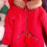 Зимняя куртка на девочку подросток