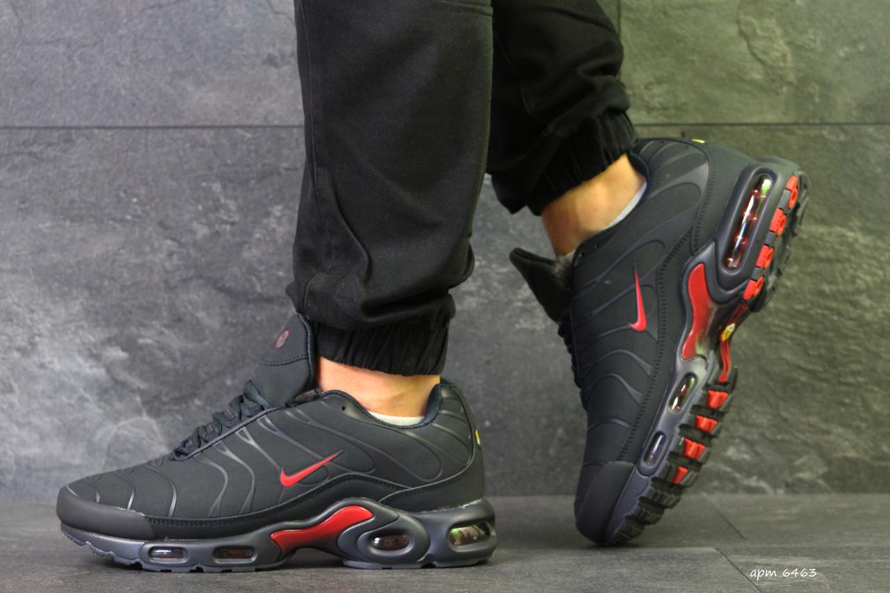 763f308a63af Мужские зимние кроссовки Nike Air Max 95 темно синие нубук (Реплика ААА+)