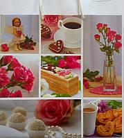 Пакет подарочный бумажный квадрат 23х24х10 (24-125)