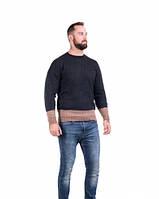 Мужской  теплый  свитер 48-52