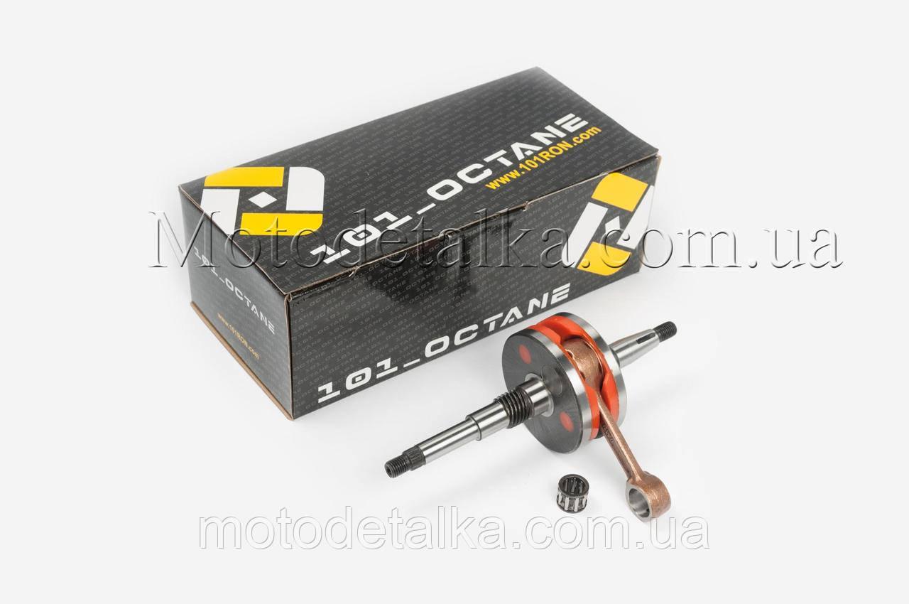 Коленвал Honda DIO AF18 (тюнинг) (HPC- type, полнощекий, +сепаратор) 101_OCTANE