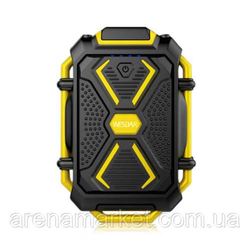 Внешний аккумулятор Power Bank Wesdar S4 10000 mAч - желтый