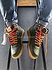 Мужские кроссовки Nike Air Force 1 Duckboot 'Dark Loden' (Найк Аир Форс) зеленые, фото 4