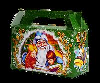 """Упаковка новорічна """"Дід Мороз"""" для солодощів 300-400г"""