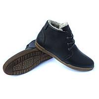 47220805f83916 Мужские ботинки Харьков: зимние кожаные ботинки, черного цвета, на меху, от  украинского