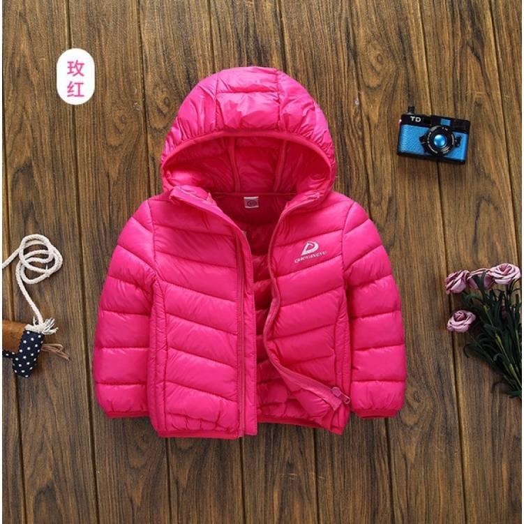 Куртка детская демисезонная  на девочку розовая