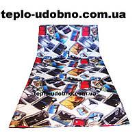 Двухспальное одеяло силиконовое (холлофайбер) комбинированное 175/210