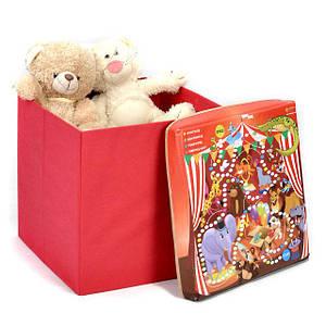 Пуфи, корзини для іграшок