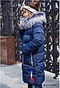 Пальто детское Рейни ТМ Nui Very Размеры 116- 158 Цвет - Синий, фото 8