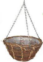 Кашпо плетёное корзина, d  30 см