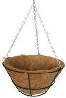 Кашпо подвесное с плоским дном, d 30 см