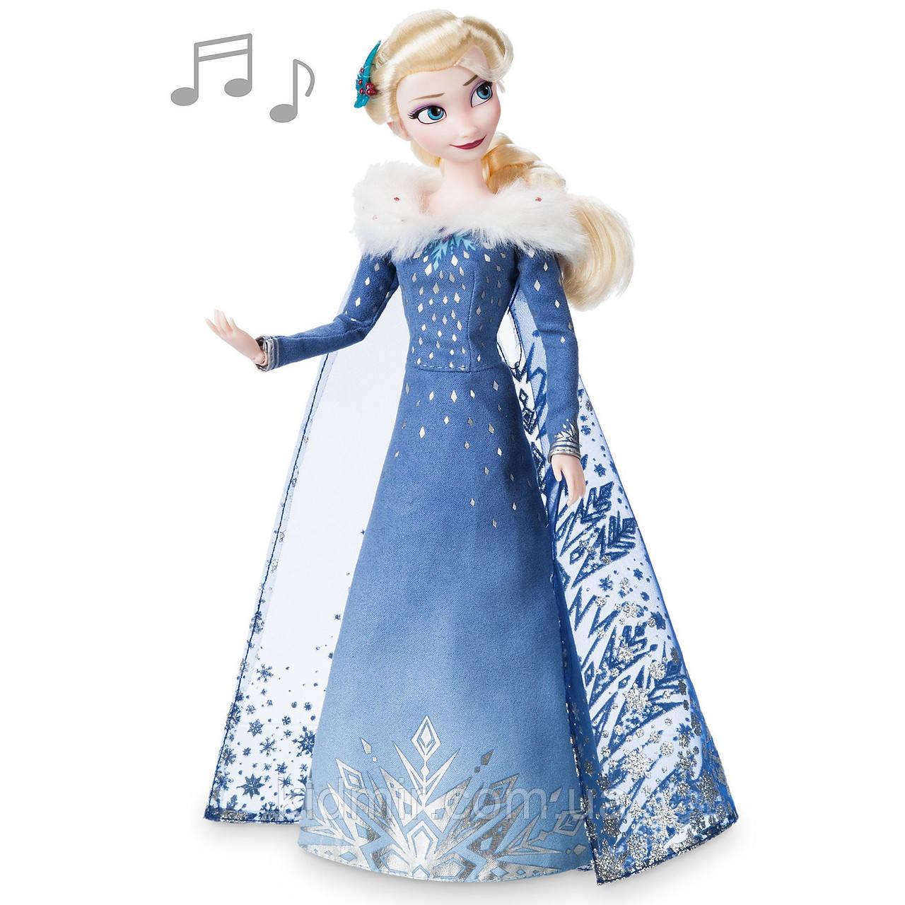 Принцесса Дисней Кукла Поющая Эльза Холодное сердце / Elsa Frozen Disney