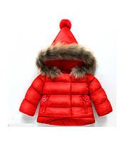 Куртка для девочки Очарование (красн) 100,130