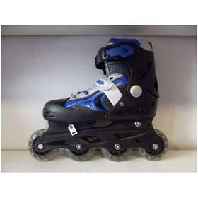 Детские ролики Sprinter размер регулируется  30-34,колёса полиуритан