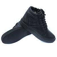 Мужская detta обувь Харьков  зимние кожаные ботинки черного цвета 883a466d79c56