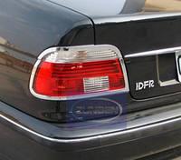 Хромовані накладки на фонари хромированные BMW e46 e39 накладки фары
