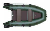 Надувная моторная килевая лодка Колибри КМ-330DL серии Лайт